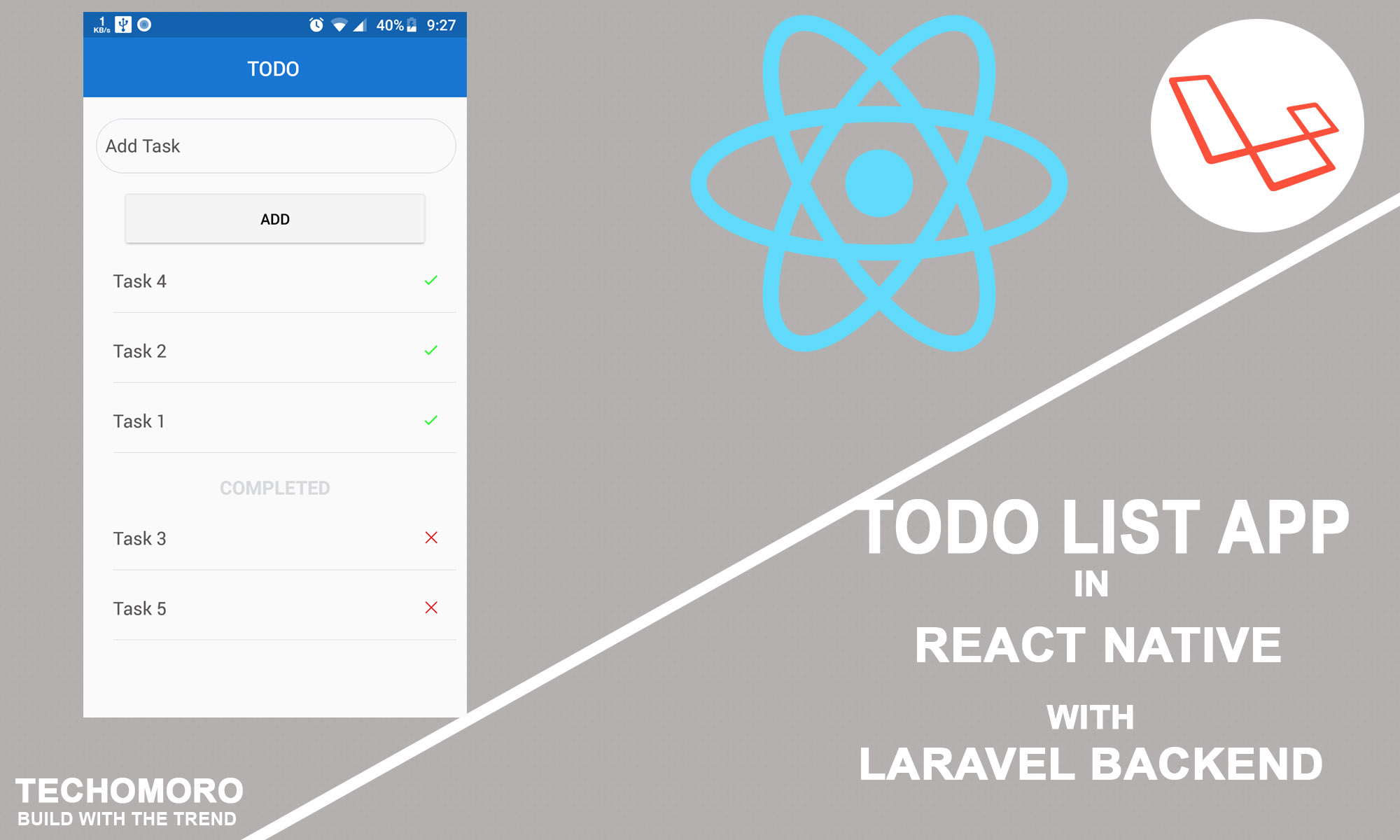 Create a todo list application in react native with laravel backend image is loading malvernweather Images