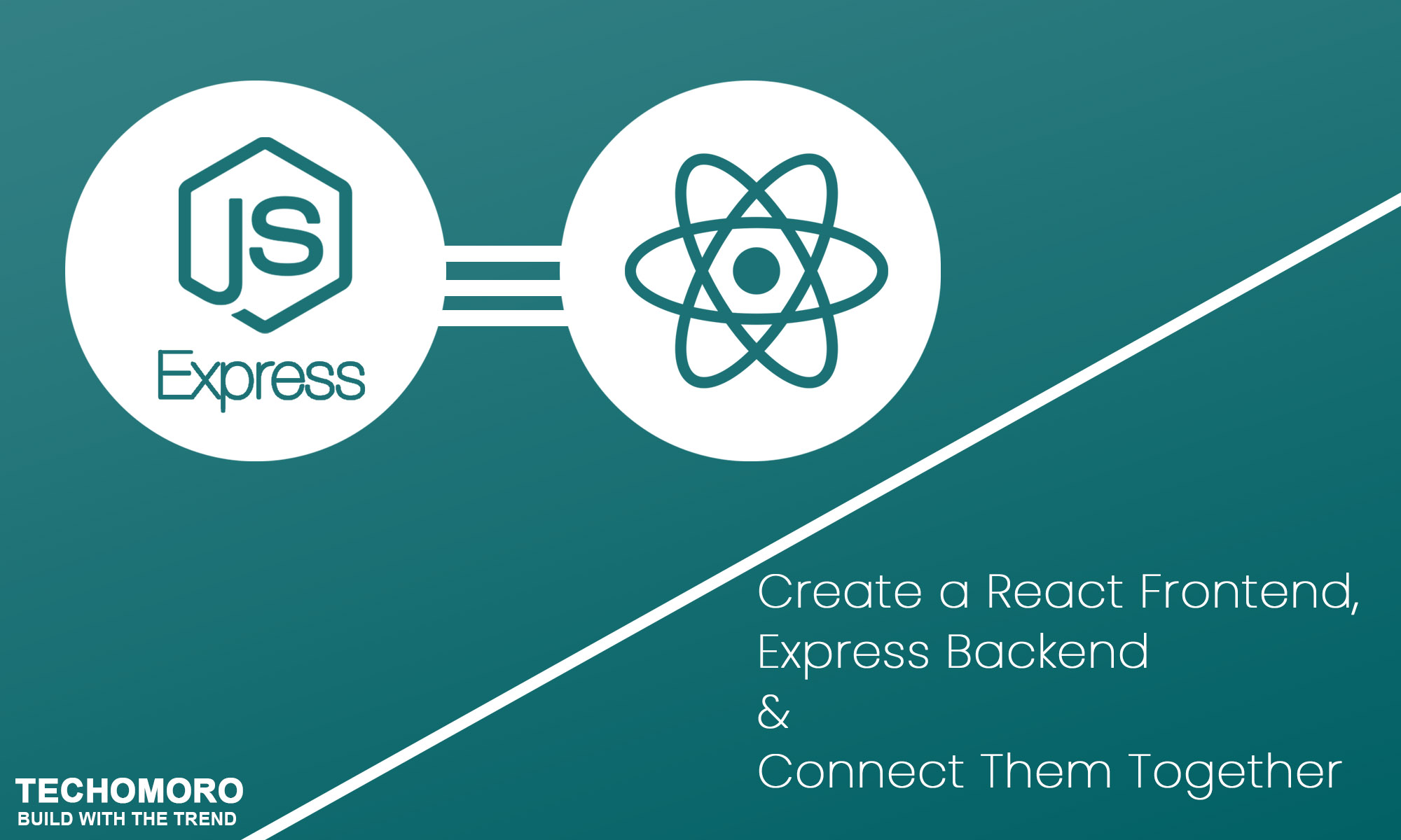 How to Create a React Frontend, Express Backend and Connect Them Together