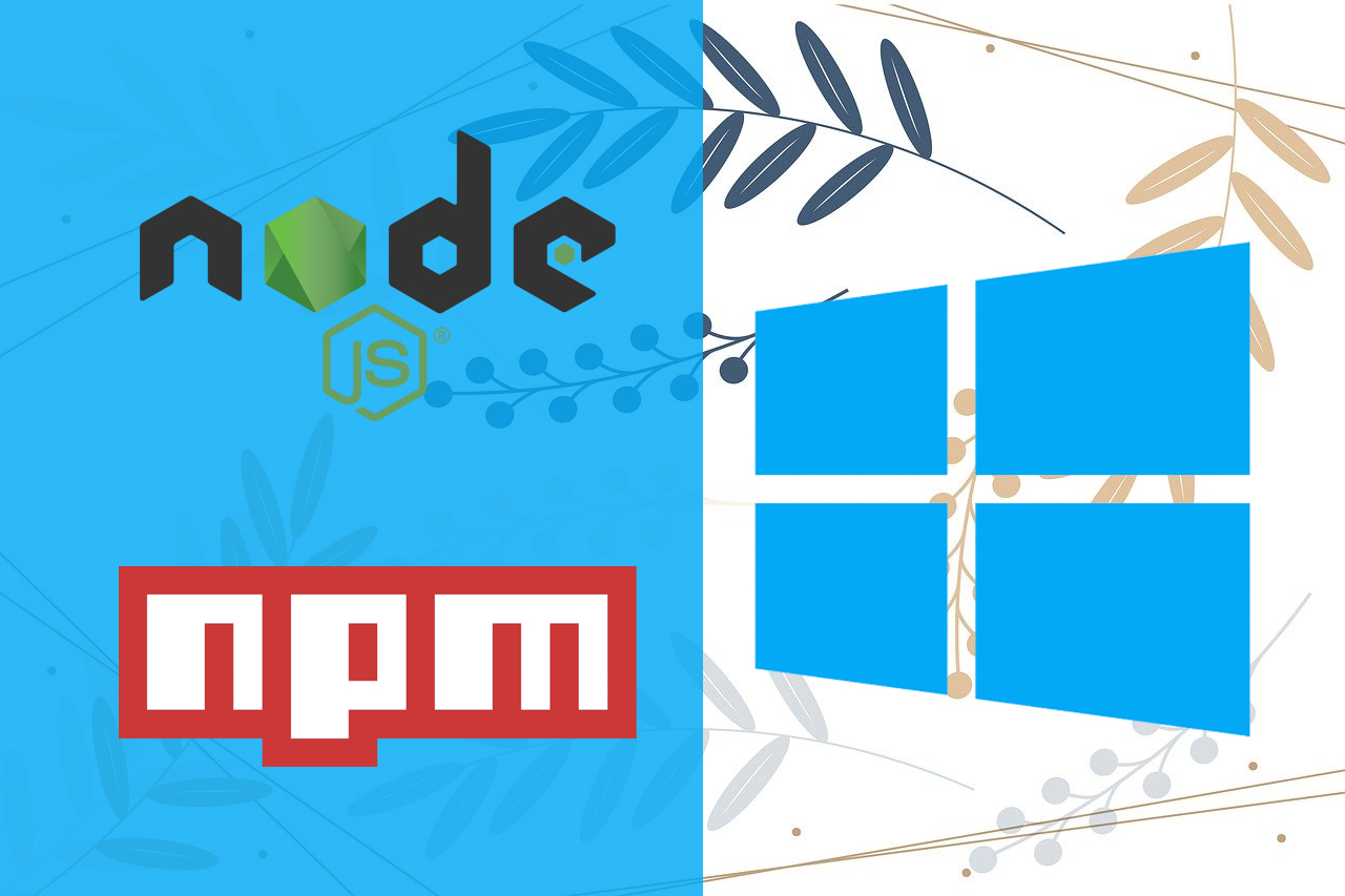nodejs-npm-windows